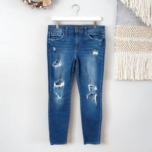 Joe's Jeans | Distressed Skinny Ankle Jeans